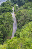 Top view of road Royalty Free Stock Photography