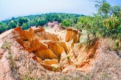 Top View of Rock Groynes Stock Image