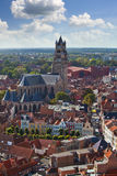 Top view of the Saint Salvator Cathedral Royalty Free Stock Images