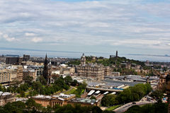 Top View of Scotland royalty free stock photography
