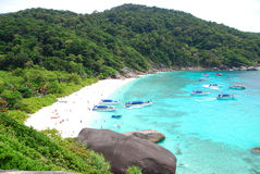 Top view of Similan Royalty Free Stock Photography