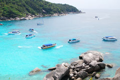 Top view of Similan Royalty Free Stock Photos