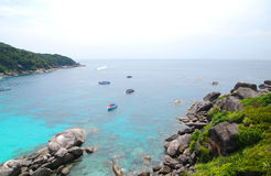 Top view of Similan Royalty Free Stock Photo