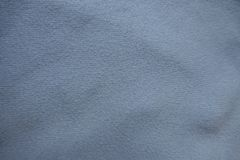 Top view of sky blue fabric. Top view of simple sky blue fabric royalty free stock images
