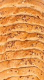 Top view of sliced bread Royalty Free Stock Images
