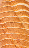 Top view of sliced bread Stock Image