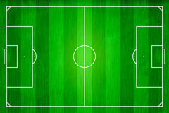 Top view of soccer field, Football stadium. Stock Images
