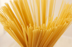 Top view on spaghetti Royalty Free Stock Images