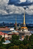 Top view of the St. Petersburg Royalty Free Stock Photos