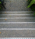 Top view of staircase Royalty Free Stock Photos