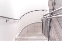 Top view of a stairs of a building royalty free stock photos