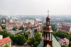 A top view of Stettin Royalty Free Stock Photography