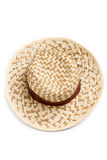 Top view of sun hat Stock Photo