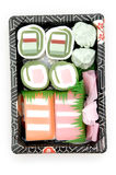 Top View of Sushi Royalty Free Stock Photo
