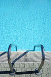 Top view Swimming Pool Water Ladder Royalty Free Stock Photo