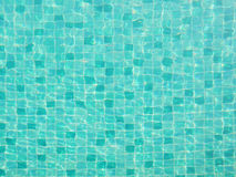 Top view of swimming pool water texture Royalty Free Stock Photography