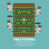 Top View of Table Football Royalty Free Stock Images