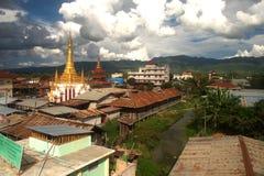 Top view of Tain Nan Pagoda. Royalty Free Stock Photo