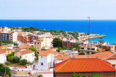 Top view of Tarragona Royalty Free Stock Photo