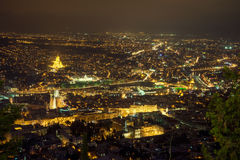 Top view of the Tbilisi Stock Images