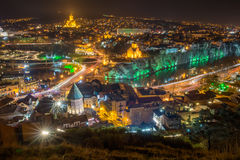 Top view of the  Tbilisi Stock Photos