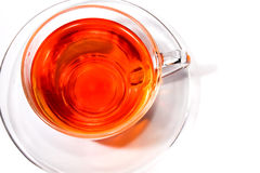 Top view on tea Royalty Free Stock Image