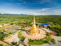 Top View of Temple. In Thailand stock images