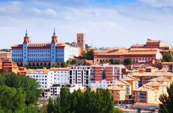Top view of Teruel in summer day Royalty Free Stock Photography