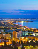 Top view of Thessaloniki, Greece Royalty Free Stock Photo