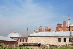 Top view of Topkapi Palace, Istanbul, Royalty Free Stock Photo