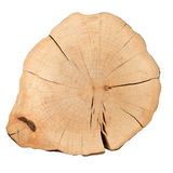 Top view of a tree stump Stock Photo