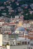 Top view of Trieste, Italy Royalty Free Stock Image