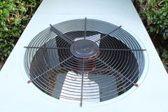 Top view of a typical heat pump Royalty Free Stock Image
