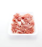 Uncooked pork Stock Photo