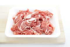 Uncooked pork Royalty Free Stock Photo
