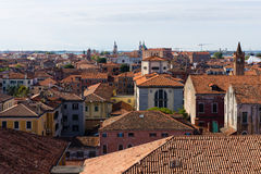 Top view of Venice Stock Images
