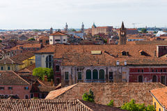 Top view of Venice Royalty Free Stock Images