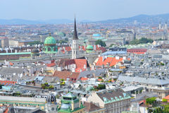 Top-view of Vienna Royalty Free Stock Images
