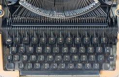 Top view of vintage typewriter. Royalty Free Stock Image