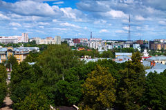 Top view of Vladimir Royalty Free Stock Photography