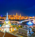 Top view of Wat Phra Si Rattana Satsadaram, Thailand Stock Image