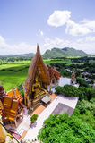 A top view of wat thum sua (Tiger Cave Temple) Stock Images