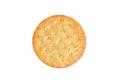 Top view wheat cracker Stock Images