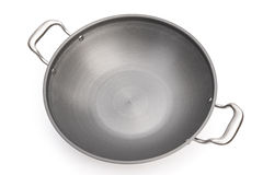 Top view wok Stock Photography