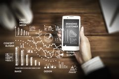 Modern technologies for business stock photo