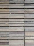 Top view of wooden plank walkway texture background in garden. Top view of wood plank walkway texture background in garden royalty free stock images