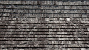 Top view wood roof texture Stock Image