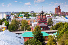 Top view of Yaroslavl Royalty Free Stock Image