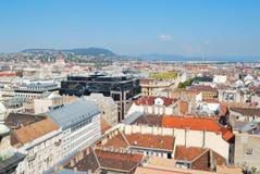 Top-vista de Budapest Fotos de archivo libres de regalías
