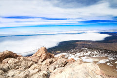 Top of volcano Teide Royalty Free Stock Images